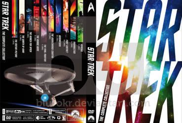 Star Trek Collection Custom Dvd Cover by blurokr