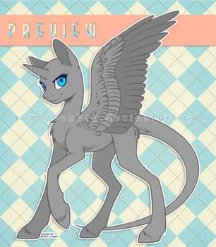 Female Pony Base 1 (F2U) *improved by silent-umbra