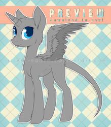 Female Pony Base 3 (F2U)