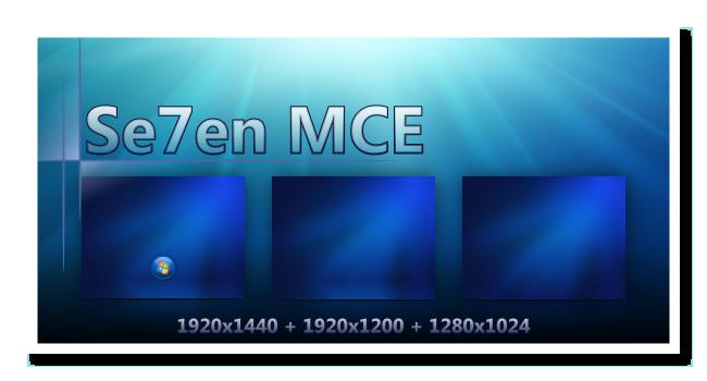 Seven MCE by DJMattRicks