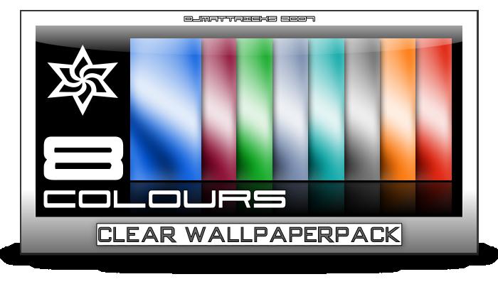 Clear Wallpaperpack by DJMattRicks