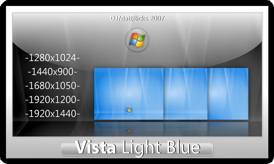 Vista Light Blue by DJMattRicks