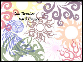 Sun Brushes by KaiPrincess