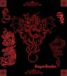 Dragon Brushes Set 1