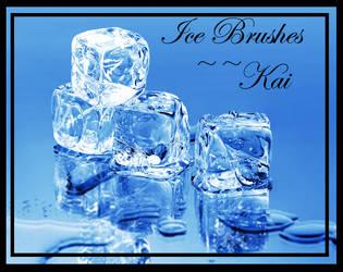 Ice Brushes New Set by KaiPrincess