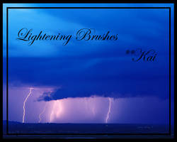 Lightening Brushes by KaiPrincess