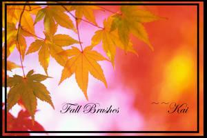Fall Season Brushes by KaiPrincess