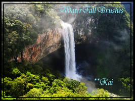 WaterFall Brushes by KaiPrincess