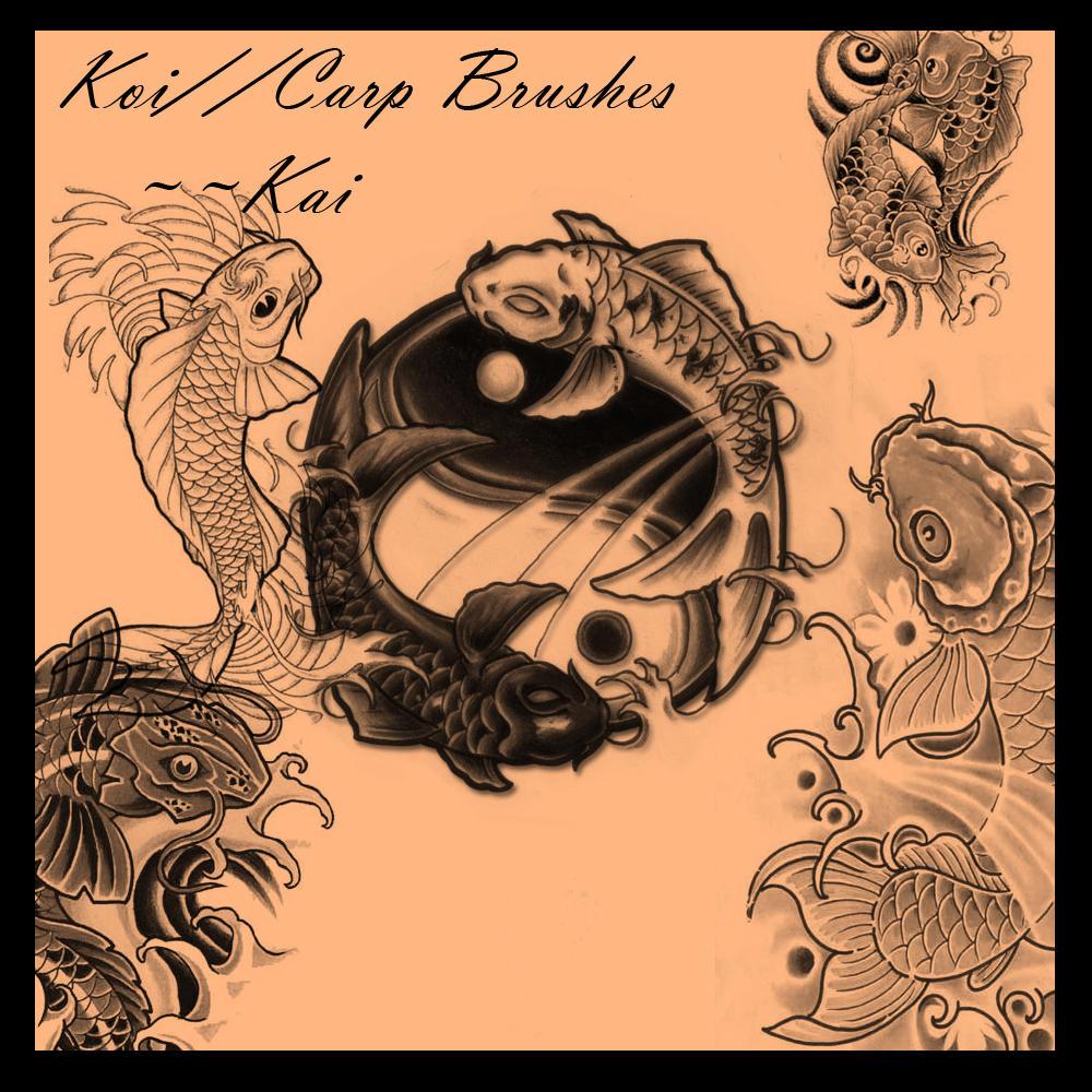 Carp:::Koi Brushes by KaiPrincess