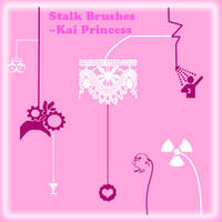 Stalk Brushes New Set: by KaiPrincess