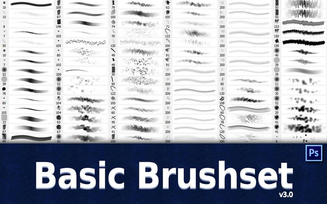 Basic Brush Set v3.0 by GrindGod