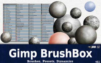 The Gimp BrushBox v2.1