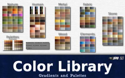 Gimp Color Library