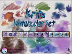 Krita Watercolor Set v1.01
