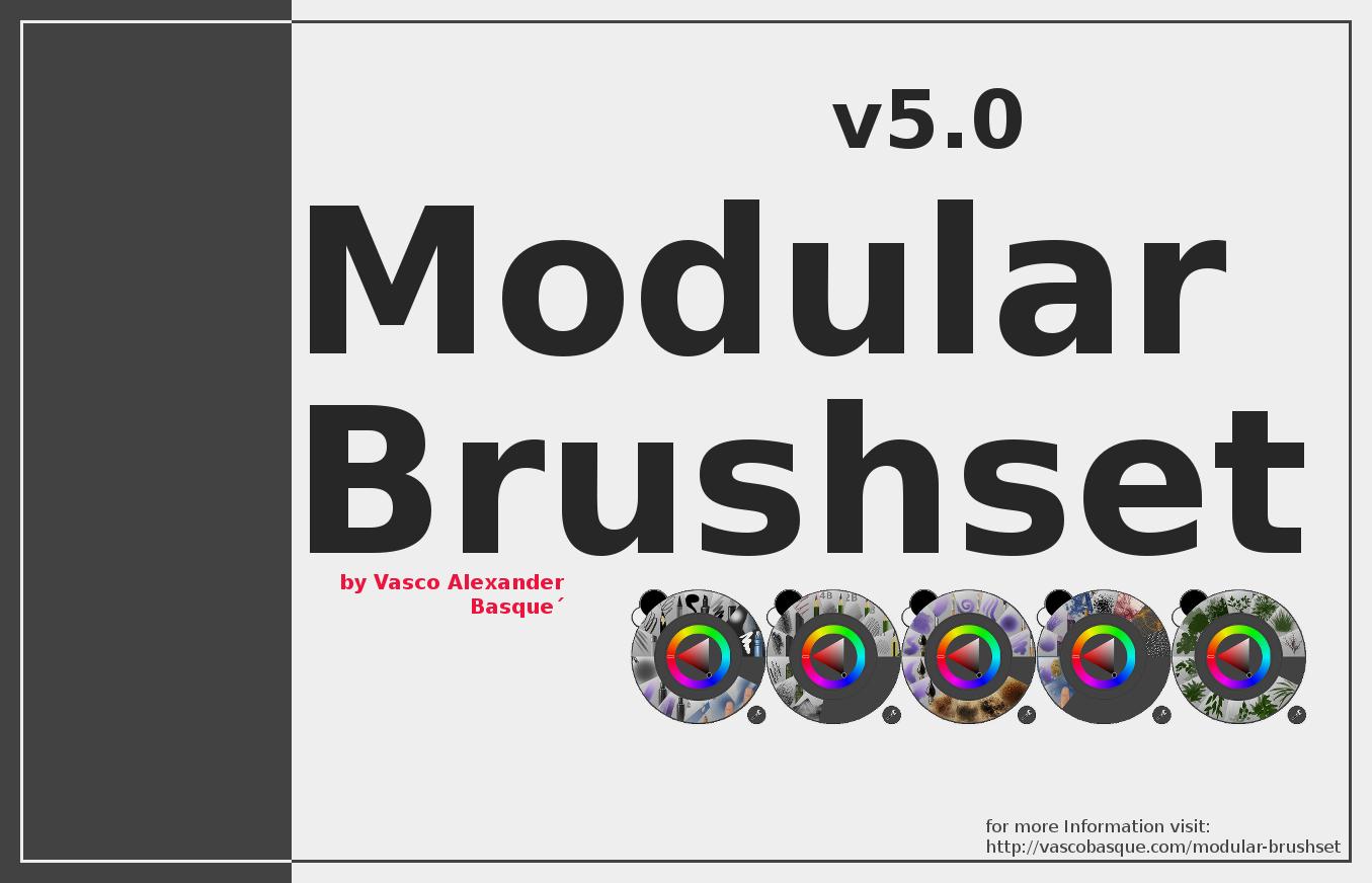 Krita Modular Brushset v5