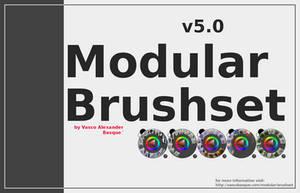 Krita Modular Brushset v5 by GrindGod