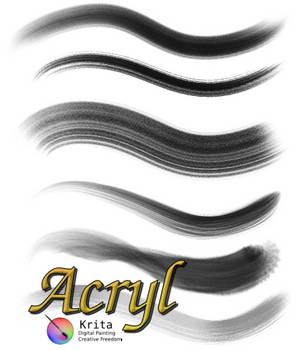 Acryl Brushset