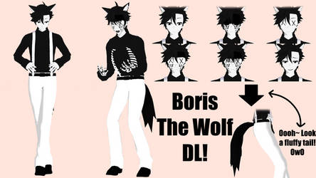Boris The Wolf DL