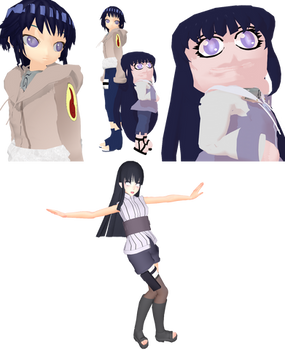 MMD Newcomer Hinata