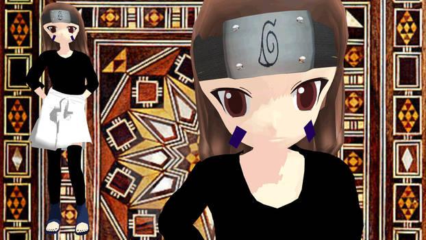 MMD Newcomer Rin Nohara from Naruto Shippuden