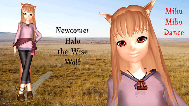 MMD Newcomer Holo the Wise Wolf - Retired