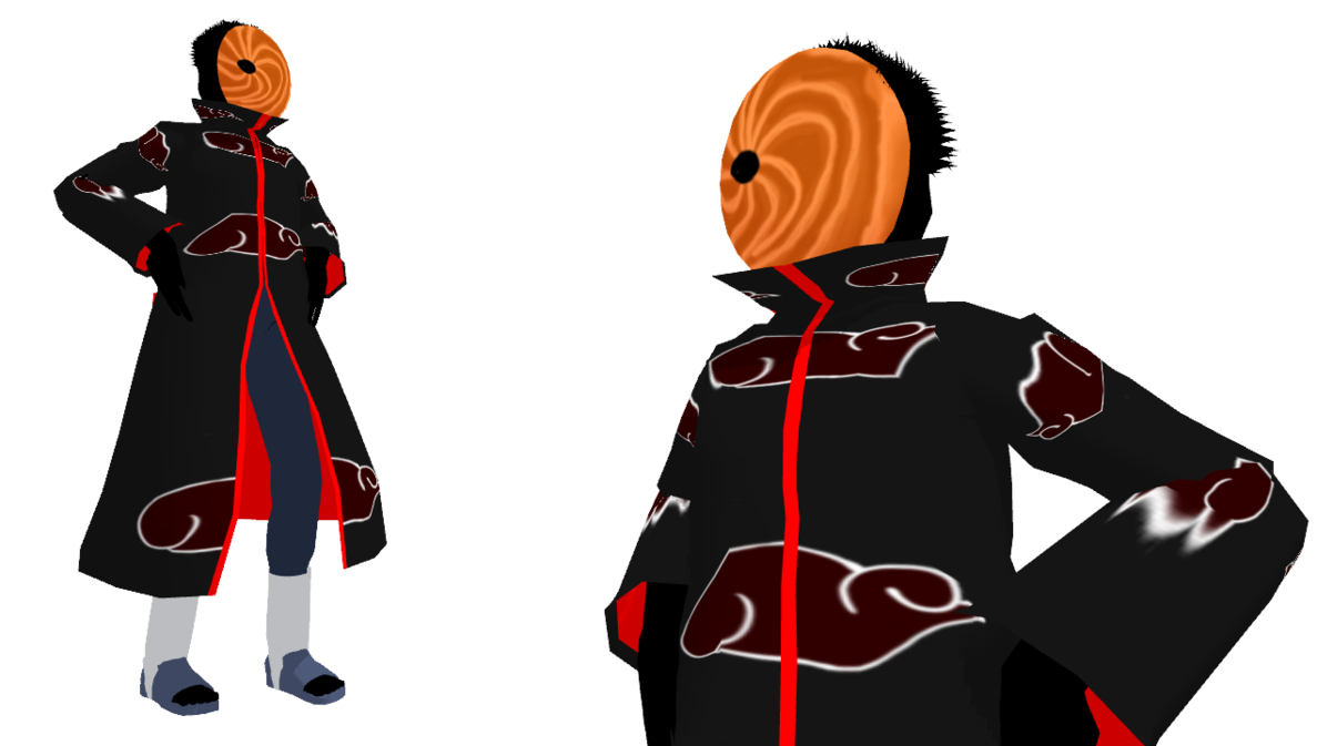 MMD Newcomer Toby from Naruto Shippuden by mbarnesMMD