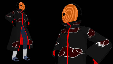 MMD Newcomer Toby from Naruto Shippuden