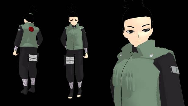 MMD newcomer Shikamaru