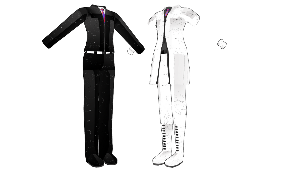 MMD O outfits DL by mbarnesMMD