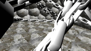 MMD Rock and Chain Stage by mbarnesMMD