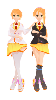 MMD Anon and Kanon