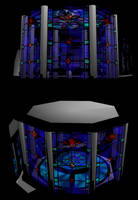 MMD Stain Glass Stage