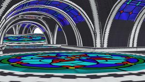 MMD Underground - Stain Glass Stage by mbarnesMMD