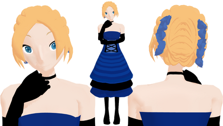 MMD Caroline Joy - Formal Dress