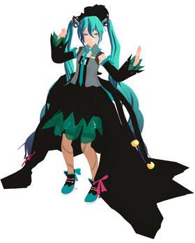 MMD Miku Hatsune - Risa Ebata Ver