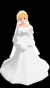 MMD Caroline Joy - Wedding Dress - UTAUloid