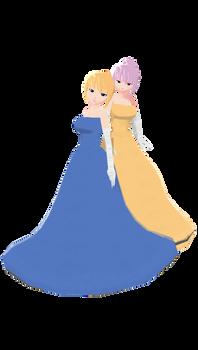 MMD Caroline Joy and Luka - Prom Dress