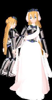MMD Lady Caroline Joy - Armor - UTAULOID