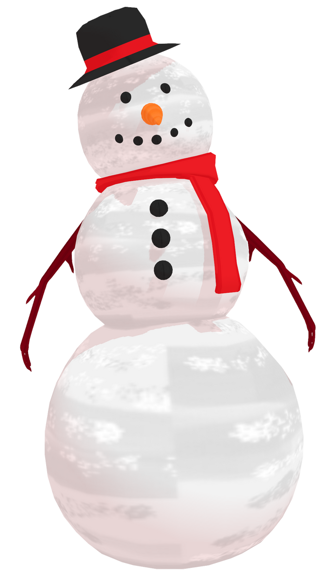 MMD MBarnesMMD's Snowman by mbarnesMMD