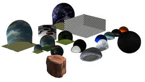 MMD Random Pack of Stages and Domes
