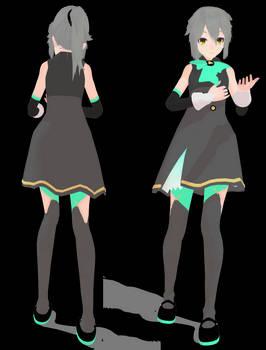 MMD Commisson Jirou Tsukiko - outfit only