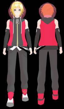UTAU Jirou Yuudai - outfit Commission