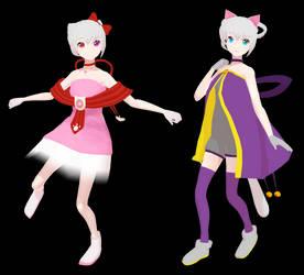 MMD Kitty Kokone - VCV and CVVC - UTAUloid