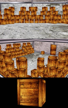 MMD Storage Room Stage - PMX/X