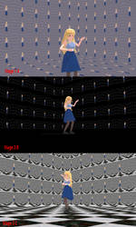 MMD Walls of Mirrors stage