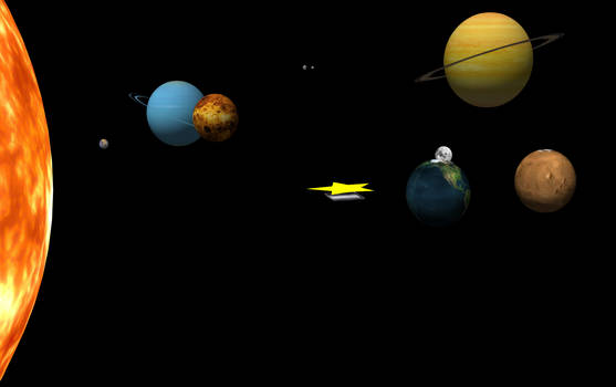 MMD Our Solar System Stage
