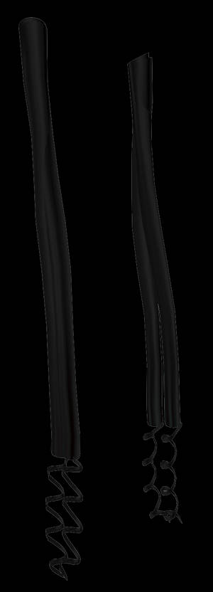 MMD Curled Side Bangs