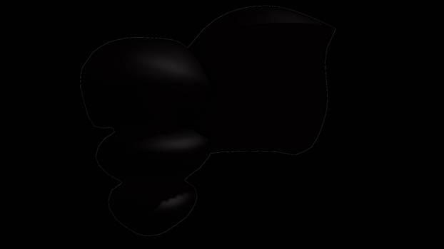 MMD Puffy side ponytail