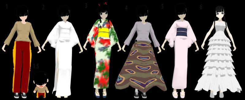 MMD Sunako Nakahara - The Wallflower