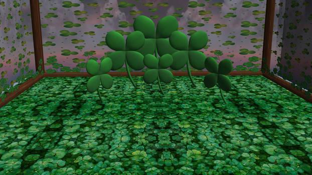 MMD Four Leaf Clover Stage - DOWNLOAD